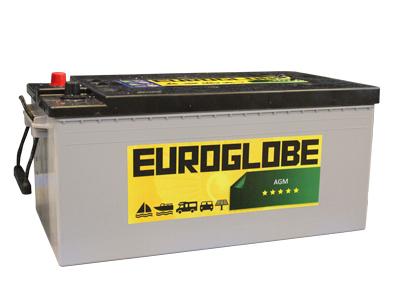 AGM akku Euroglobe | Aurinkosähkö.net